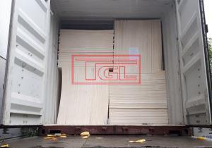 Bàn giao container hàng mgo chống cháy 1220x2440x5mm tại Khu CN Phú Nghĩa, Chương Mỹ