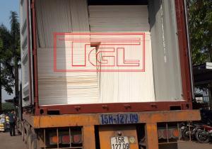 Bàn giao tấm MGO 6mm cho đơn vị bạn tại Thụy Lâm, Đông Anh