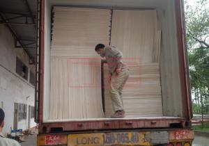 Bàn giao Conatiner Tấm MGO chống cháy cho đơn vị sản xuất cửa gỗ công nghiệp