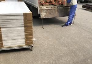 bàn giao chỉ veneer tần bì và gioăng chống cháy dạng thanh Nam Hồng, Đông Anh, Hà Nội