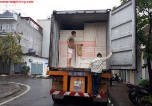 Bàn giao container hàng tấm chống cháy Eron - MgO cho đơn vị Đà Nẵng