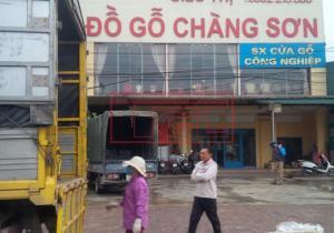Bàn giao đơn hàng tấm da cửa 2 Pano phủ veneer Ash - Tần bì cho đơn vị sản xuất cửa gỗ công nghiệp tại Thạch Thất, Hà Nội.