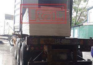 Bàn giao tấm Eron chống cháy 5mm cho đơn vị bạn tại Đông Anh, Hà Nội