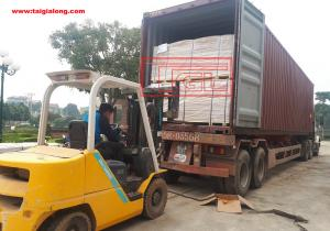 Bàn giao container tấm da cửa 6 panel và 2 panel cho đơn vị bạn tại Phúc Thọ, Hà Nội