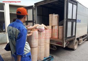 Bàn giao chỉ veneer tự nhiên và gioăng cao su trắng cho đơn vị bạn tại Nam Hồng, Đông Anh