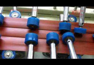 Embedded thumbnail for Máy dán con lăn dán PVC Film