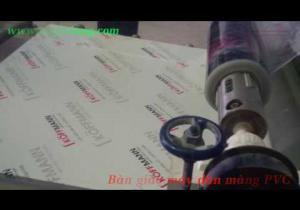 Embedded thumbnail for Bàn giao Máy cán màng PVC, Màng PVC cho đơn vị sản xuất cửa Thép chống cháy